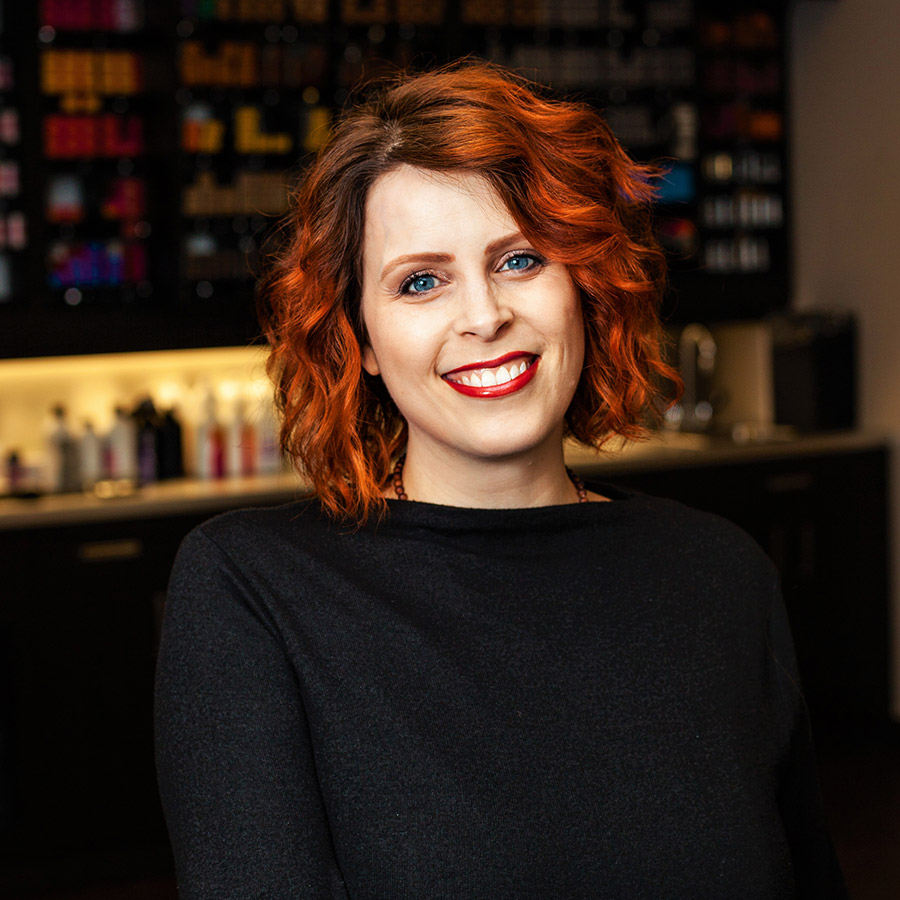 Chrissy Dugas Master Colorist at Vibe Salon in Bedford NS