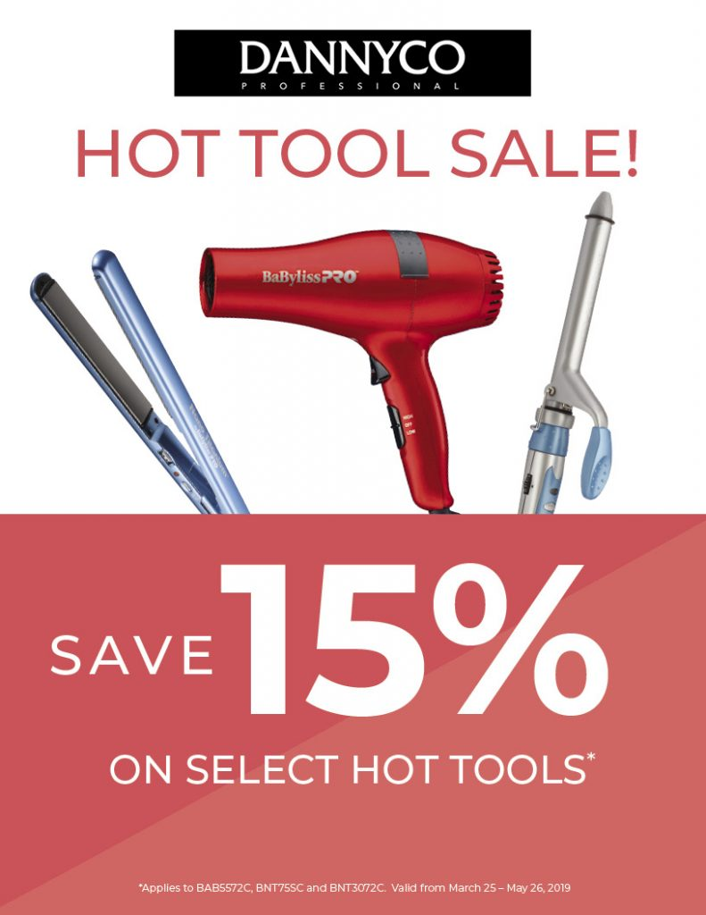 15% off Dannyco Hot Tools, Vibe